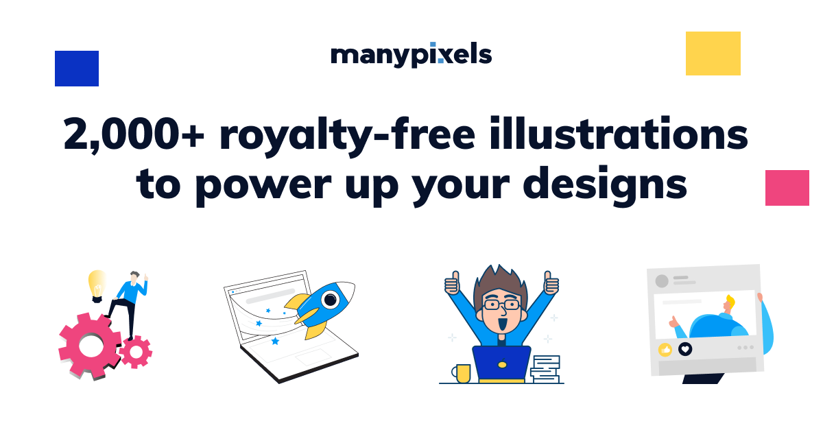 Free to Use Clip Art Images & Vector Illustrations | ManyPixels